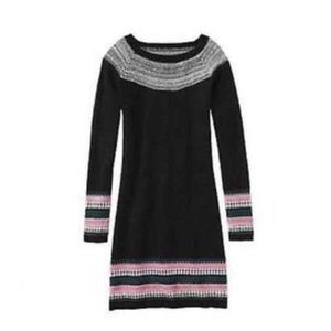 Athleta Fair Isle Sweater Dress